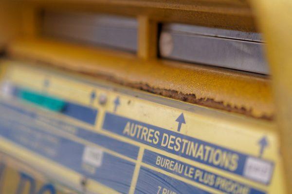 la poste boite aux lettres oldies