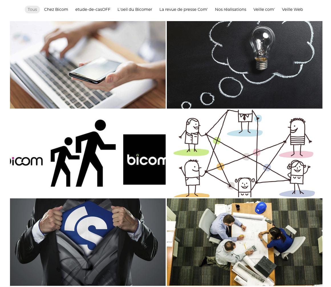 illustration du blog bicom