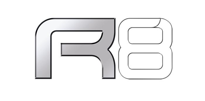 logo R6 blanc