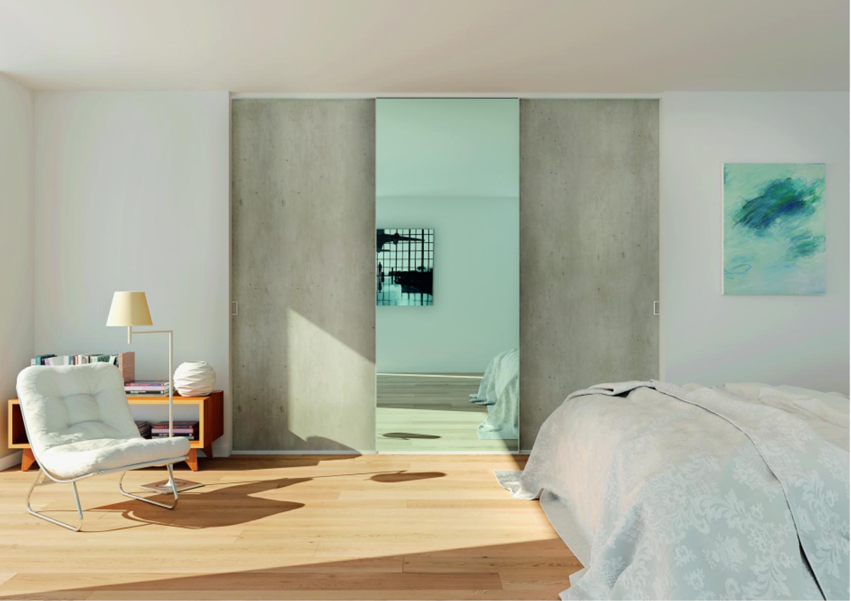 Illustration 3D d'une chambre
