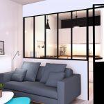 Illustration 3D d'un intérieur