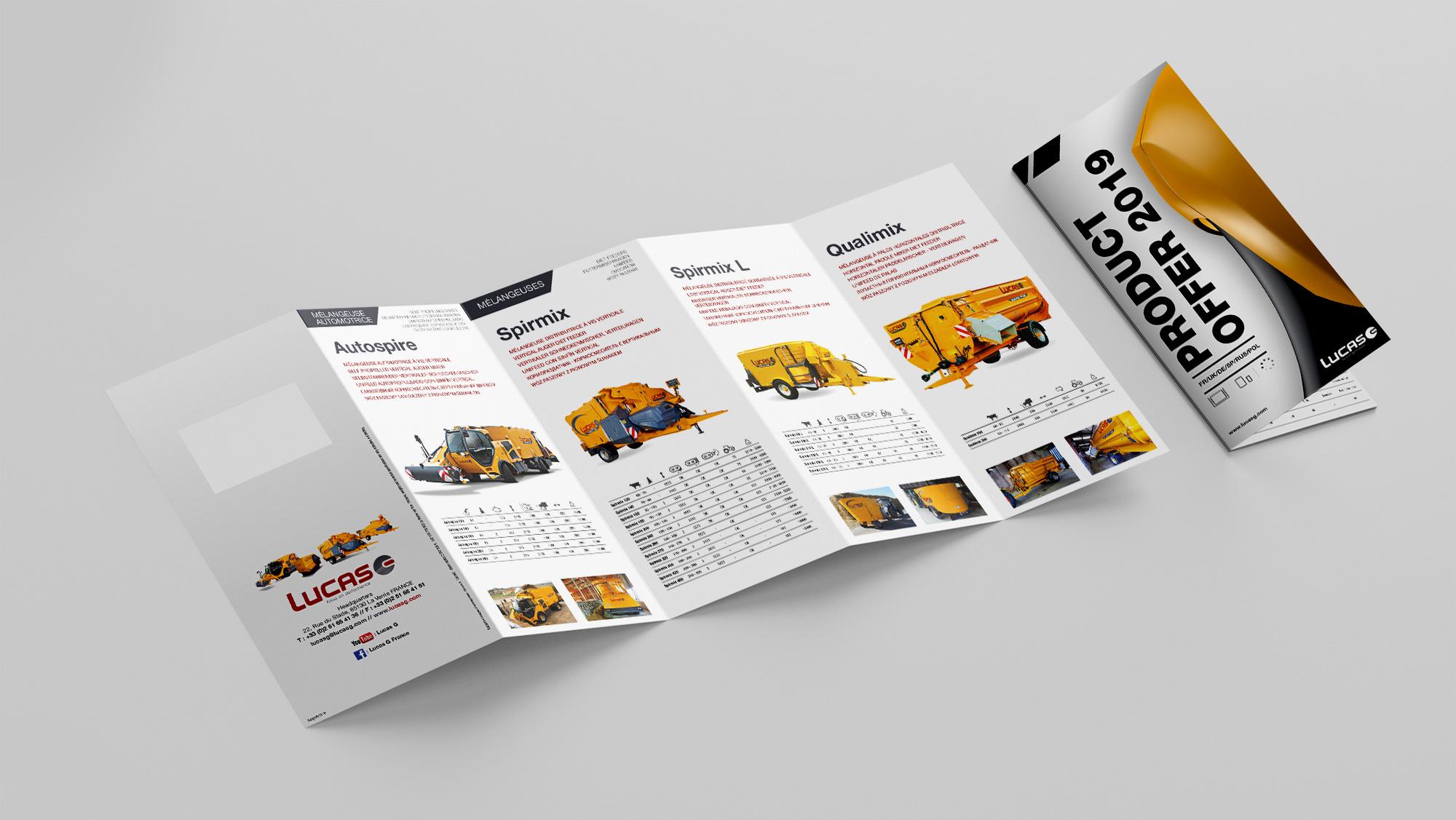 leaflet de l'offre produit LucasG