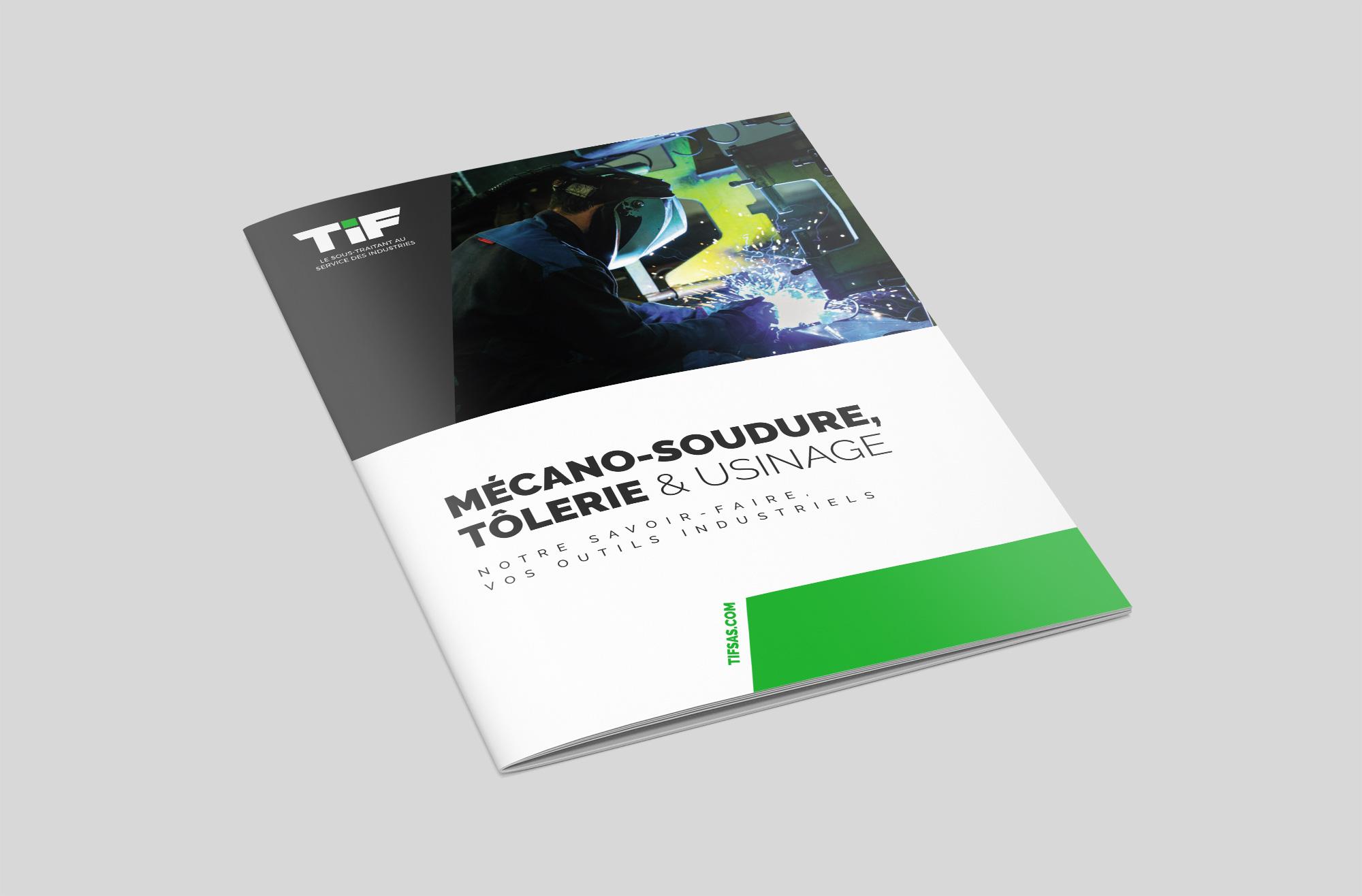 Brochure 3 volets TIF