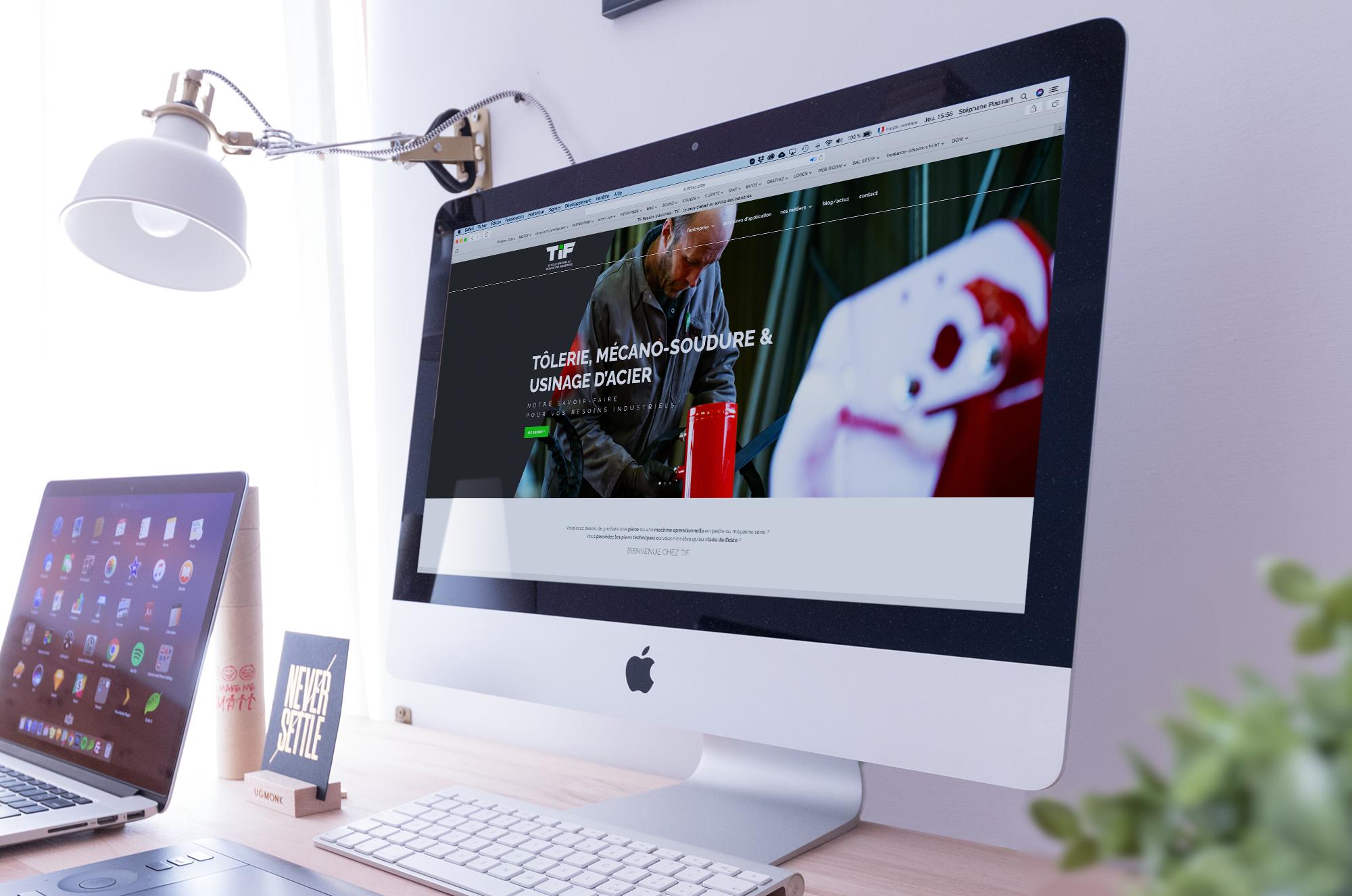 Site web pour TIF sas