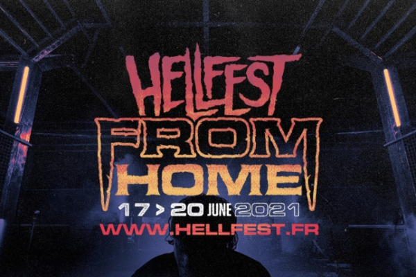 Affiche Hellfest from home