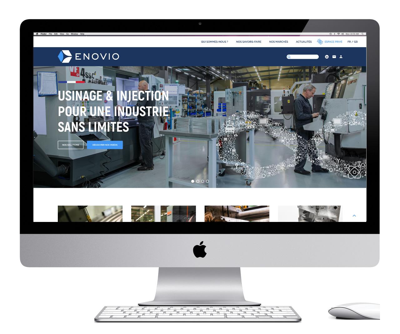 site internet Enovio